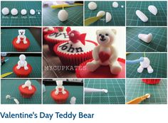 Teddy Bear Tutorial by Kate Kang of Mycupkates.
