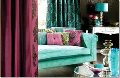 beautiful and bright color combo