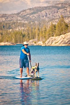 Father's Day Travel Ideas: for the dad who likes to try new things. Stand Up Paddle (SUP) is everywhere these days. Look for an outfitter near you and give it a shot.
