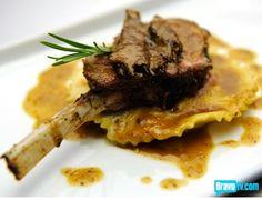 Top chef 5 Fabio's Ravioli with Lamb and Roasted Mushrooms