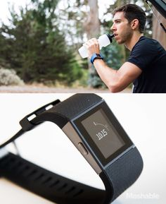 The Fitbit Surge is the superwatch of Fitbits. It has all of the health tracking functions of a Fitbit, it also has the ability to let you see incoming call and text alerts.