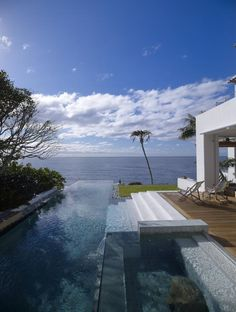 Perfect Ocean View pool & deck.