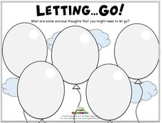 Letting Go! Mylemarks is a company dedicated to providing parents and professionals with helpful resources to teach social-emotional skills to children. These tools include counseling worksheets, handouts, workbooks, and much more! Group Therapy Activities, Mental Health Activities, Therapy Worksheets, Activities For Teens, Counseling Activities, Counseling Worksheets, Anxiety Activities, Group Counseling, Art Activities