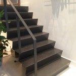 Studio Thijzer made this for SLA Amsterdam - stairs of steel #interior design