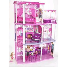 Home. Kids. Life.: Barbie House Cabinet