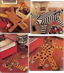 Afbeeldingsresultaat voor gehaakt tapijt dierenfiguur