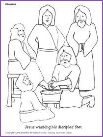 coloring jesus kids korner biblewise