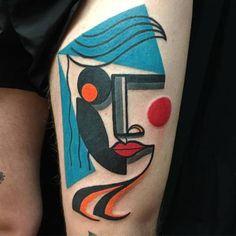 O londrino Mark Boyd é especialista no estilo consagrado por Pablo Picasso. Créditos: Instagram