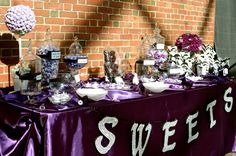 Our Candy Buffet!