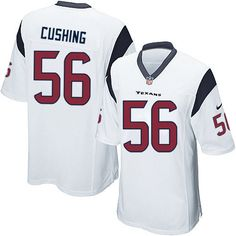 Nike Limited Brian Cushing White Youth Jersey - Houston Texans #56 NFL Road
