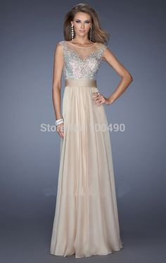 2015 FreeShipping Custom Made chiffon Cheap Light Blue Sparkly illusion neckline Bridesmaid Dresses Two Tone Party Gown DS009-in Bridesmaid Dresses from Apparel & Accessories on Aliexpress.com   Alibaba Group