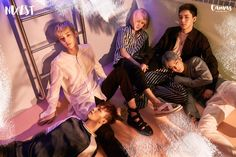"NU'EST Announces Comeback With Painting-Like Teaser Images For ""Canvas"""