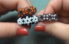 More How to Make Beaded Rings Tutorials