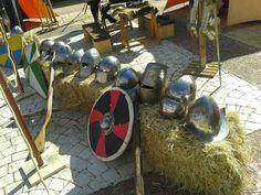 Medieval camp; Group: Viajeros de Arcadia & Sköldar Klan; Place:Berlanga de Duero (Spain)