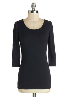 Today and Always Tee in Black, #ModCloth