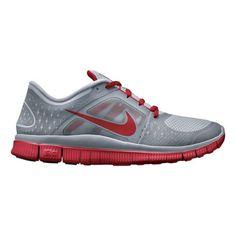 102fed034017 Men s Nike Free Run+ 3 Running Shoe - Grey Red 14
