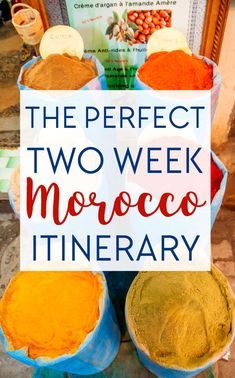 A Two Week Morocco Itinerary You Should Steal - Heart My Backpack