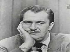 Vincent Price Mystery Guest - A classic clip from the quiz show, What's My Line. Dig that French accent