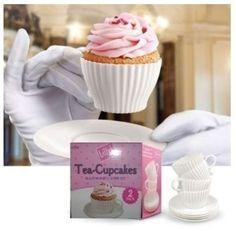Cupcake na Xicara de Chá - Loja Chá das Cinco