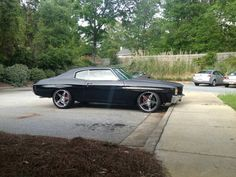 71 chevelle Asanti Staggered offset 20x9 20x11 af144 5 star wheels
