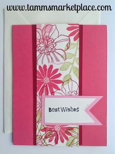 """Send the Best Wishes card from the Limited Edition """"Ivory Set"""" and make someone's day more personal. Card measures 4.25"""" x 5.5"""" and comes with a matching ivory envelope. The """"Ivory Set"""" consists of ca"""