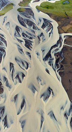 *##*, an aerial photo of volcanic Iceland by Andre Ermolaev, via 500px