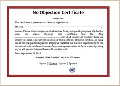 Application For No Objection Certificate For Job Brilliant Business Letter Format Example  Template  Pinterest  Business .