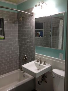 Small Bathroom Remodel: After
