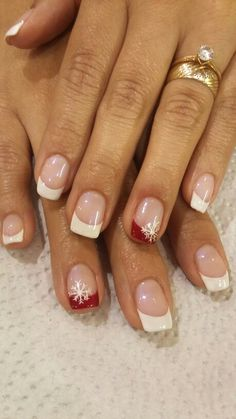 Xmas Nails, Holiday Nails, Christmas Nails, Christmas Nail Designs, Gel Acrylic Nails, Gel Nails, Nail Printer, Nagel Hacks, Cute Nails