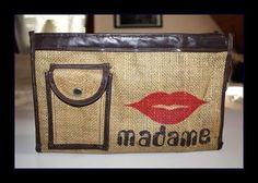 Vintage Kulturbeutel von *Coco Mademoiselle* auf DaWanda.com