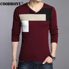 High Quality Autumn Winter Soft Warm Knitted Cashmere Sweater Men Christmas Sweaters Casual V-Neck Pullover Men Pull Homme 66204 Cashmere Sweater Men, Men Sweater, Women Life, Knitting Patterns Free, Free Knitting, Fashion Flats, Fall Winter, Autumn, Christmas Sweaters