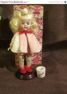 ON SALE Vintage 1955 Vogue Walking Ginny Doll by Sisters2Vintage