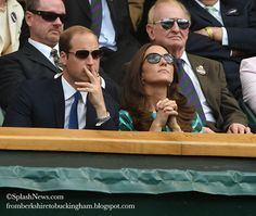 Kate: From Berkshire to Buckingham:  The Duke and Duchess of Cambridge, Wimbledon, July 6, 2014