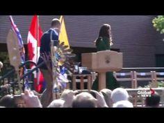Duke and Duchess of Cambridge arrive at UBC Okanagan