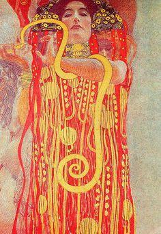 """Gustav Klimt (1862–1918) """"Medicine"""""""