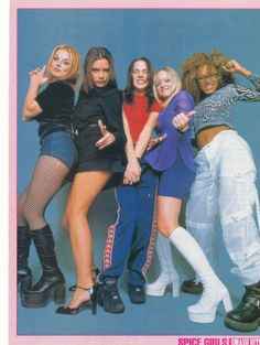 Photo of Spice Girls for fans of Spice Girls 32558443 Spice Girls Outfits, Girl Outfits, Fashion Outfits, Halloween Costumes For Girls, Girl Costumes, 2000s Fashion, Girl Fashion, Couture Fashion, Runway Fashion