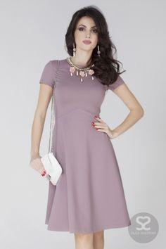 Элегантное платье с юбкой «трапеция» в интернет-магазине дизайнера | Skazkina