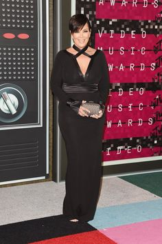 Pin for Later: See All the Stars on This Year's MTV VMAs Red Carpet! Kris Jenner