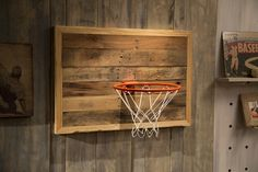 Ana White   Build a Reclaimed Pallet Wood Basketball Hoop   Free and Easy DIY Project and Furniture Plans