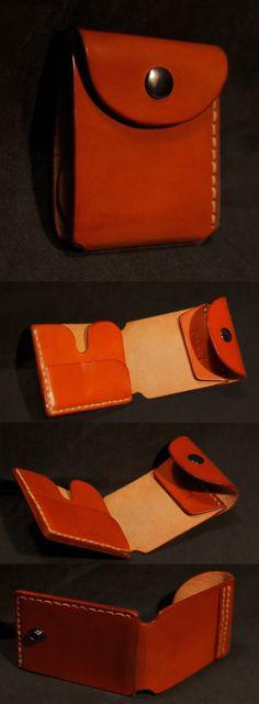 Leather Wallet by Leon Litinsky