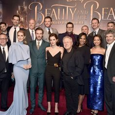 """2,994 Likes, 17 Comments - Beauty and The Beast (@beautyandthebeast) on Instagram: """"See cast, filmmakers, and special guests on the red carpet at the World Premiere of Disney's Beauty…"""""""