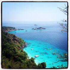 Honeymoon Bay i phang gna, thailand