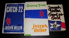 Joseph Heller Lot 2TPB+1PB Catch 22 Closing Time & Good as Gold WE SHIP IN BOXES | eBay $6.99