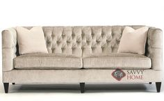 Beckett Sofa with Down-Blend Cushions by Bernhardt Interiors at Savvy Home. $1,950.00