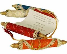 colorful red and orange invitations for arabian nights themed party rolled in persian carpet style Festa Tema Arabian Nights, Arabian Nights Prom, Arabian Nights Theme Party, Arabian Theme, Arabian Party, Jasmin Party, Princess Jasmine Party, Moroccan Party, Moroccan Theme