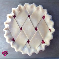 This is the only pie crust recipe you'll ever need. All butter, flaky, and perfect every time!