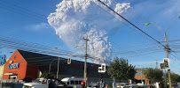 칠레 칼부코 화산 폭발 - Google 지도  / 사진을 클릭하시면, 원본의 큰 사진 및  많은 사진도 볼 수 있습니다.