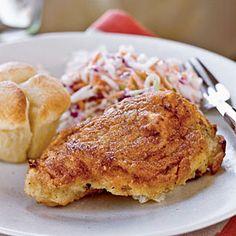 Buttermilk Oven Fried Chicken