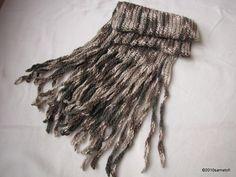 long fringed scarf