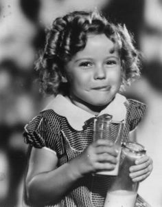 Shirley Temple -- Quite possibly one of the cutest and most talented actresses in the entire history of film